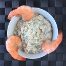 Shrimp in cocktail sauce photo: ©️Nel Brouwer-van den Bergh