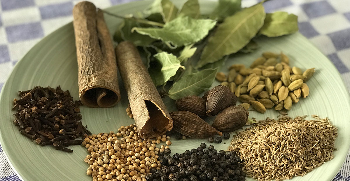 Garam Masala Ingredients Photo: ©️ Nel Brouwer-van den Bergh