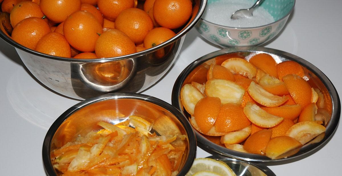 Kumquat marmelade photo: ©️Nel Brouwer-van den Bergh