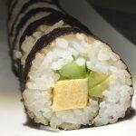 Chumaki sushi roll: ©️ Nel Brouwer-van den Bergh