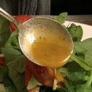 Salad dressing with mustard and orange juice Copyright Nel van den Bergh