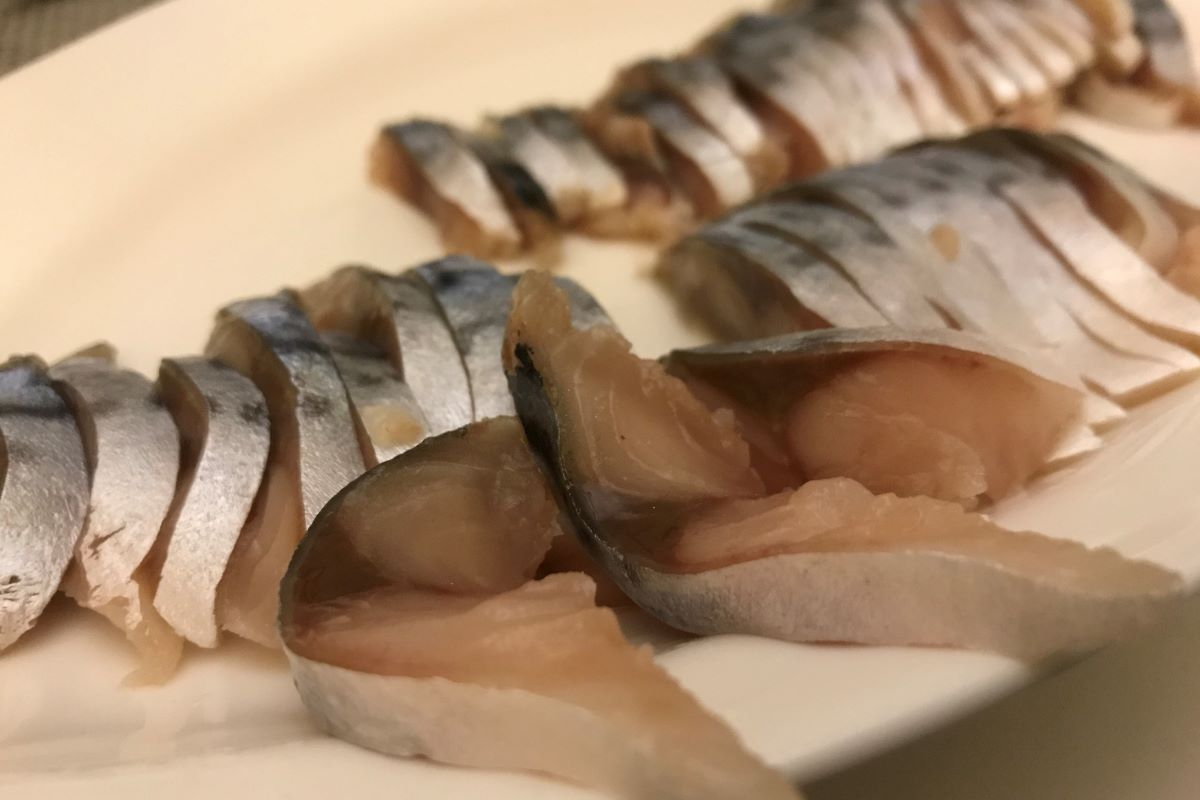 salt cured mackerel ©️ Nel Brouwer-van den Bergh